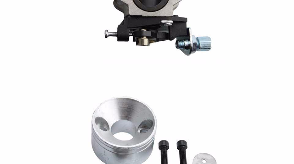 GOOFIT 15mm Carburetor Air Filter Carburettor Kit Carb for 49cc Mini ATV  Dirt Pocket Bike Racing Motorcycle Group-77
