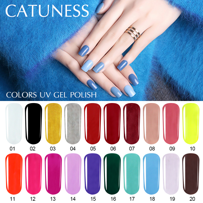 Detail Feedback Questions about CATUNESS Latest Ordinary Nail Polish ...