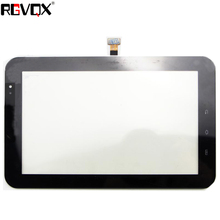 New For Samsung Galaxy Tab P1000 7 inch Touch Screen Digitizer Sensor Glass Panel Tablet PC Replacement Parts Black/White black new 9 inch blusens touch 90 90b 90w tablet 12pins touch screen panel digitizer glass sensor replacement free shipping