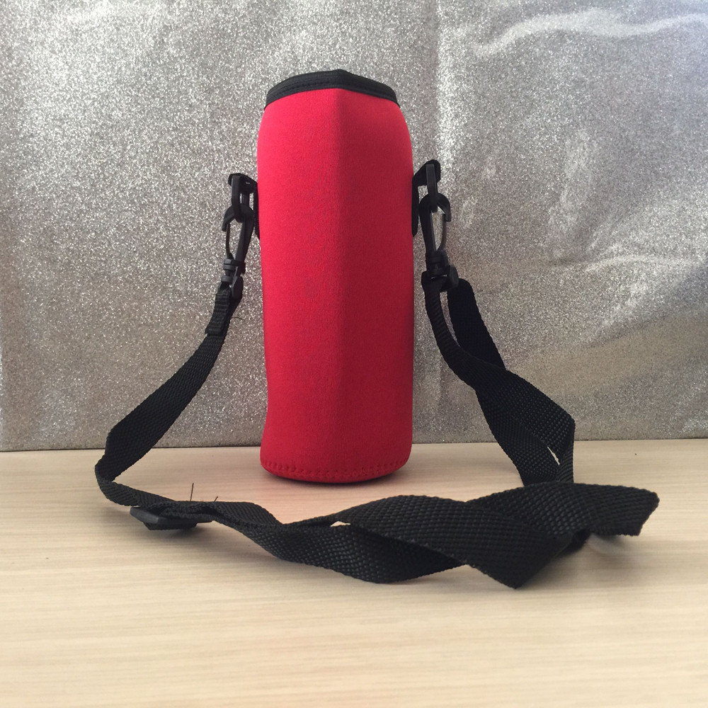 1Pcs Travel 1000ML Neoprene Water Bottle Carrier Insulated Cover Bag Holder