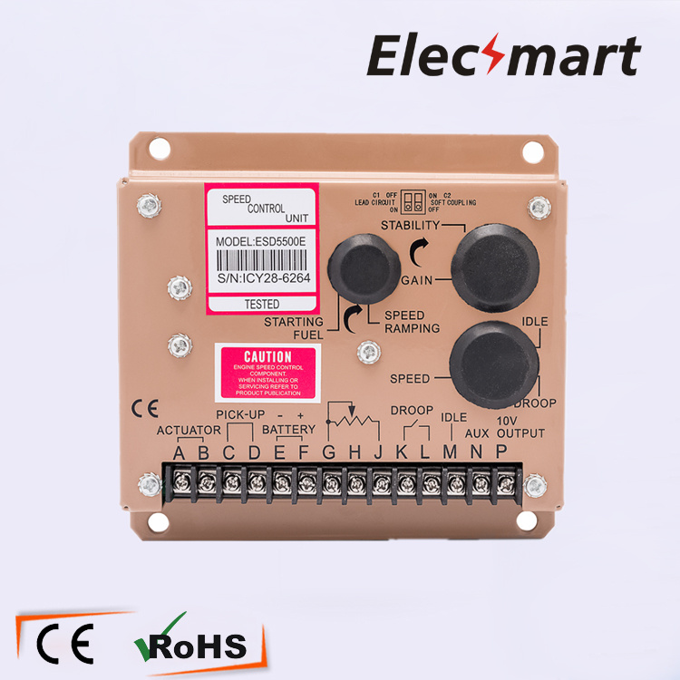 Generator Speed Controller ESD5500 Speed governor ESD5500E new esd5500e engine speed governor speed governor gac esd5500e relative humidity up to 95
