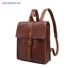 Fashion Women Laptop Backpacks Leather Large Capacity Female Casual Travel Bagpack Female Bookbag School Bags For Teenager Girls все цены