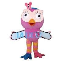 Горячая Распродажа розовый Сова талисман костюма взрослых Необычные платья характер талисмана