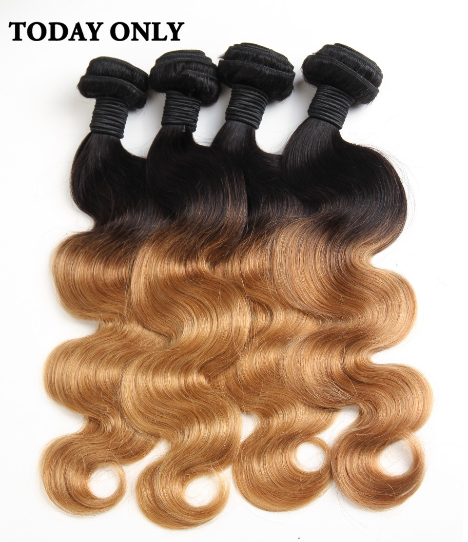 ombre brazilian hair 04
