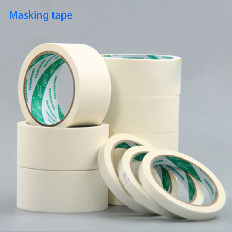Fita adesiva colorida para máscara, tinta pulverizadora para tinta, papel texturizado para arte de máscara de mão