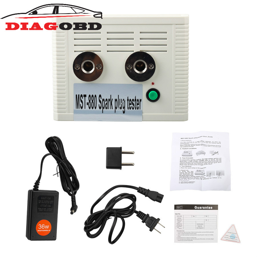 все цены на Arrival Automotive Spark Plug Tester Ignition System Detector Car Diagnostic Tool MST-880 онлайн