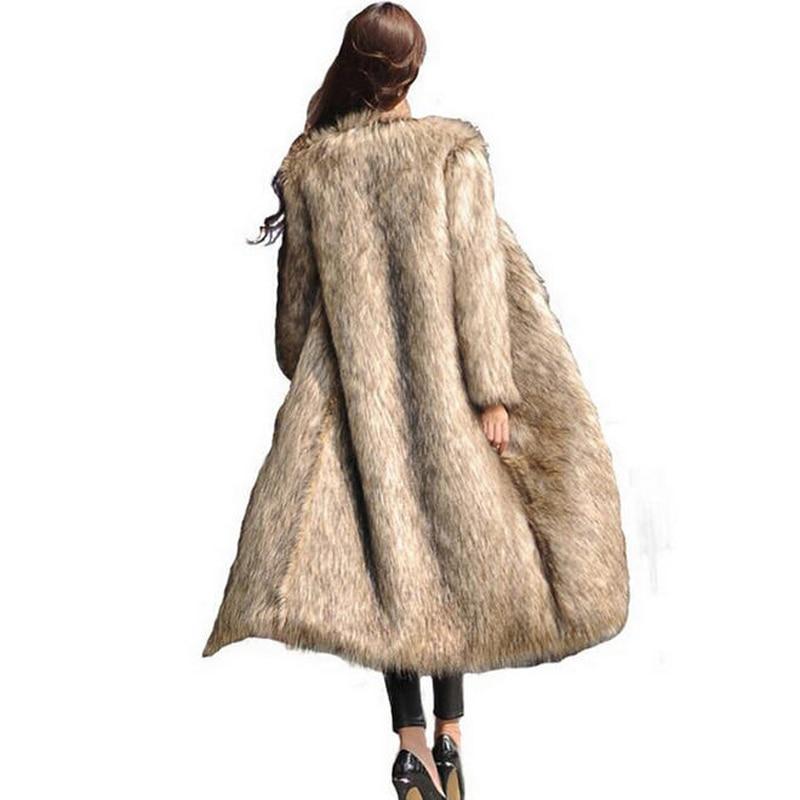 En 5xl Taille Mode De Hiver 6xl Faux Renard Survêtement Fourrure Automne H029 Picture Longue Imitation Fausse Manteau As Femmes 2017 Grande afZSnq7