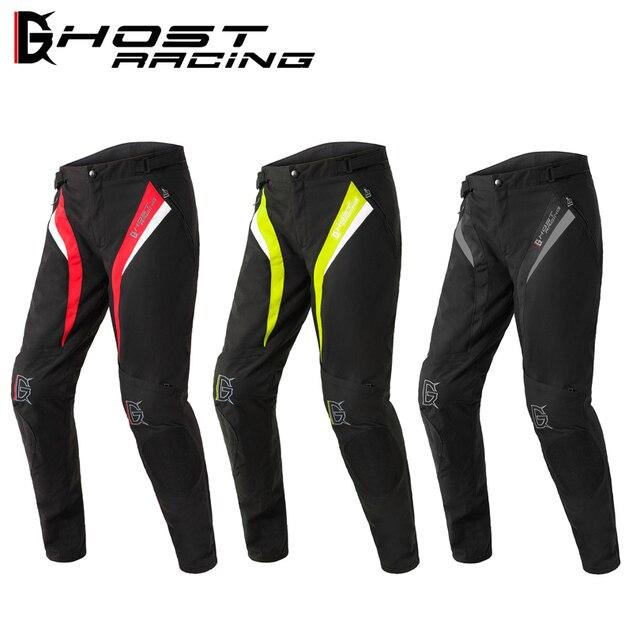 GHOST RACING pantalon moto de course | Pantalon moto cross, coupe-vent résistant aux chocs, pantalon moto cross étanche