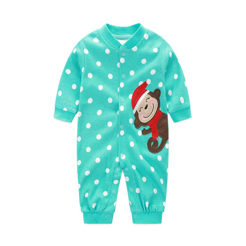 Clearance Sale 2018 Baby Clothing Monkey Baby Girl Rompers