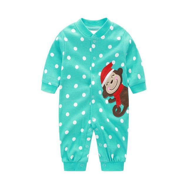 Uitverkoop Babykleding.Uitverkoop 2018 Babykleding Aap Meisje Rompertjes Katoen Lange Mouw