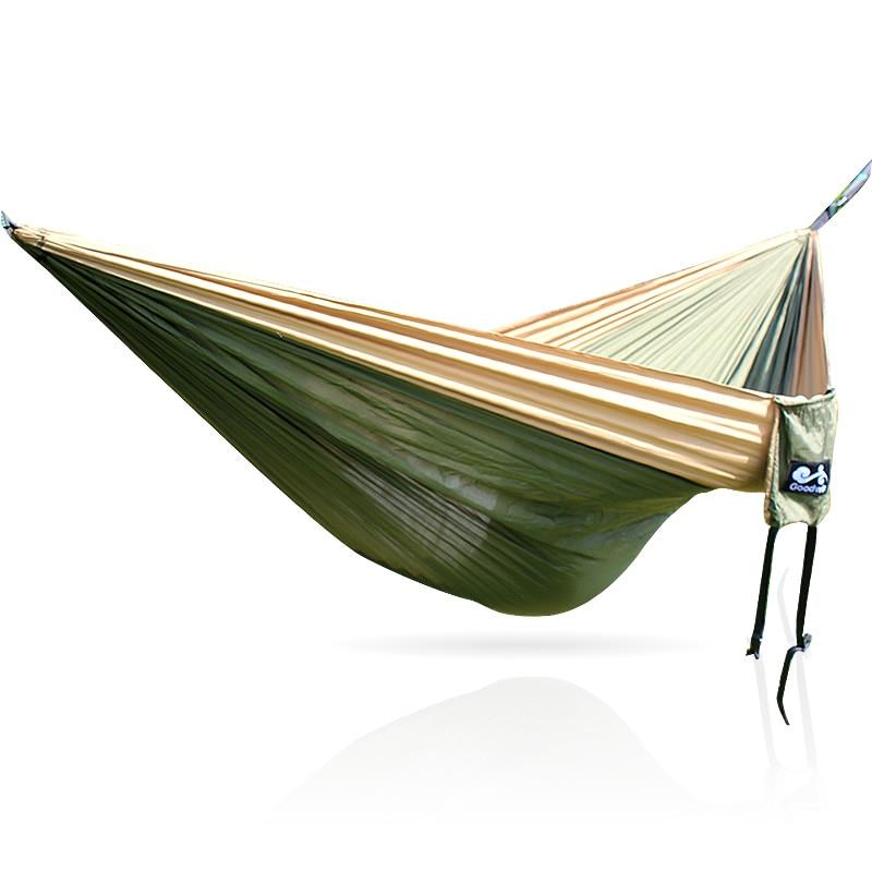 Hamaca de nailon 300x200 CM 210T Color caqui verde caqui Hamacas     -