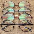 Nuevo Incluyendo Demasiado Lang Fondo Miopía Montura de gafas Coreano Restaurar Maneras Antiguas de Metal Ligero Borde Fino Círculo Marco Gafas de Marco