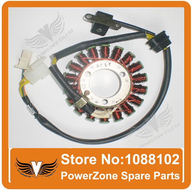 online buy whole atv magneto from atv magneto loncin gn250 gn300 250cc 300cc dc type magneto coil stator 18 coils fit atv motorcycle dirt
