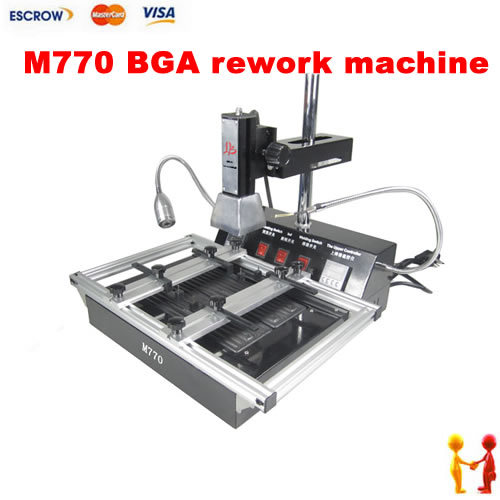 Freeshipping ! LY M770 Infrared BGA rework machine soldering station,upgraded from M760, for Leaded & lead-free working блендер погружной bosch msm14200