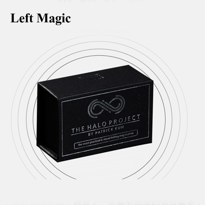 The Halo Project By Nuvo Design Co. And Patrick Kun (Gimmick+Online Instructions) - Close Up Magic Tricks Street Magic Illusion