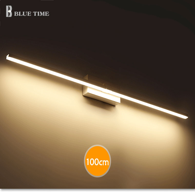 Simple Led Wall Light Bathroom Mirror Front Light Modern Sconce Wall Lamp For Bathroom Lamp Cosmetic Lamp Wandlamp AC110 220V lamp wall wall bathroom bathroom light headboard waterproof 12w lamp front bedroom led for 55cm mirror lamp led sconce