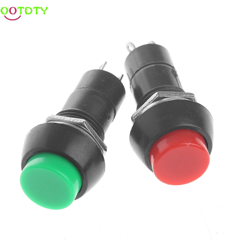 5Pcs/Set Mini DS-11A Self-Locking SPST Push Button Switch Latching AC 250V 3A  828 Promotion hertz ds 250 3