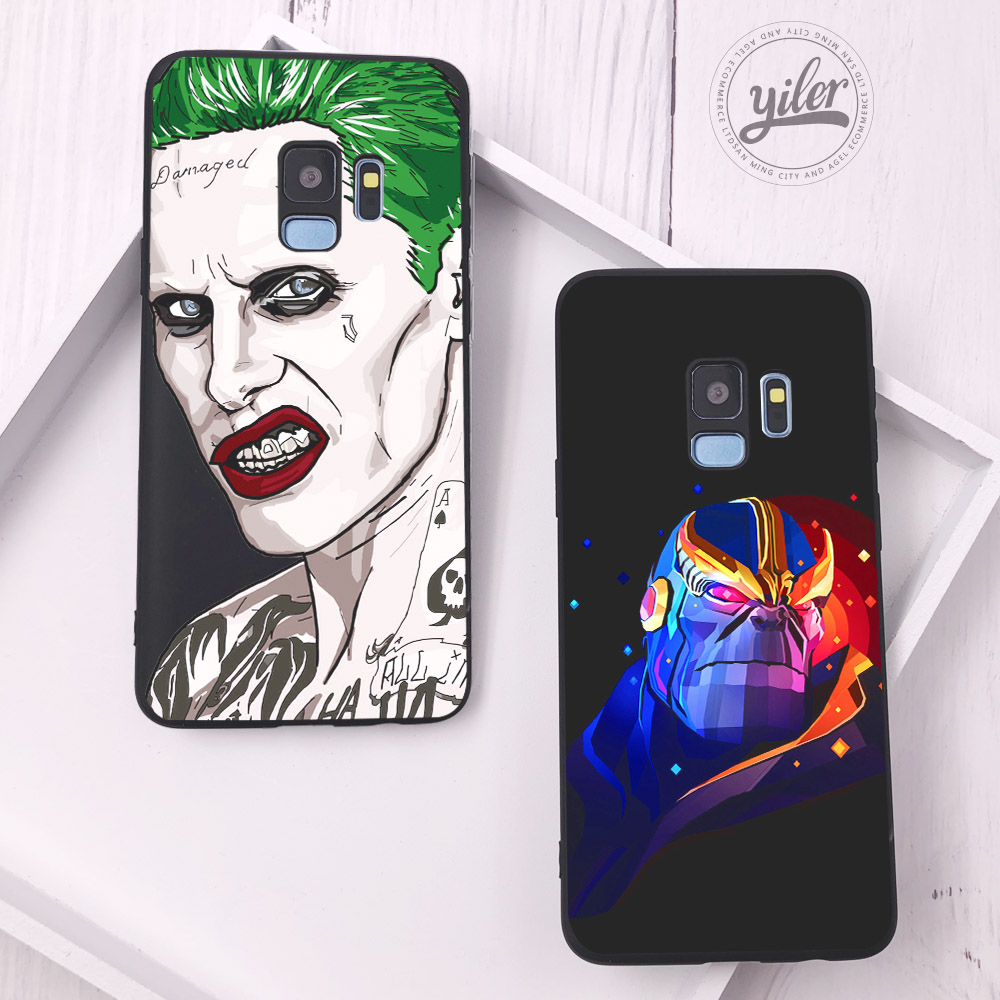 Fashion Personal bad guy Funda For Case Samsung S9 Plus Cover Shell for Galaxy S10e S7 Edge S8 S10