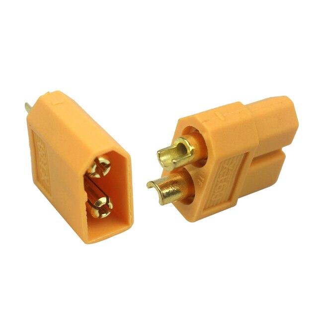 20 PCS XT60 XT-60 Masculino Feminino Conectores Bala Plugs para RC Lipo Battery 10 Pares