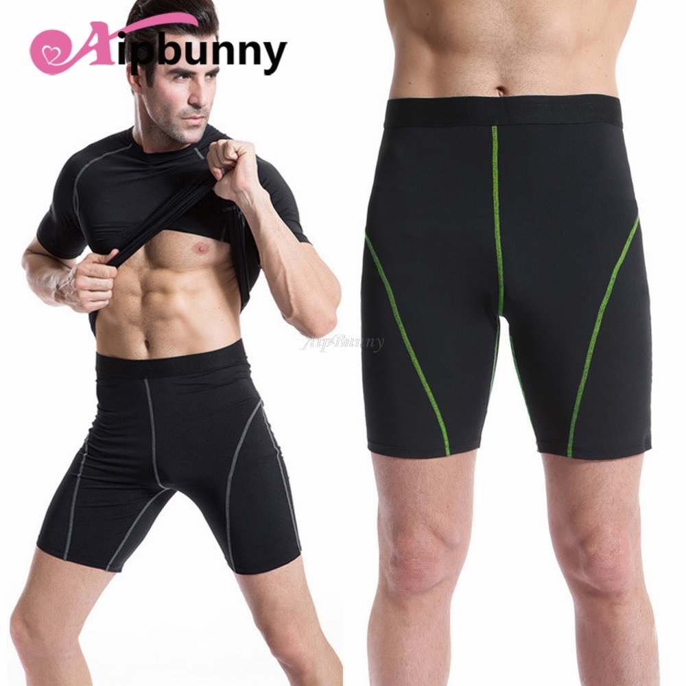 Aipbunny Professional Fitness Sports Tight Shorts Pants For Men Yoga Exercise Gym Sweatpants Jogging Workout Short Body Shaper