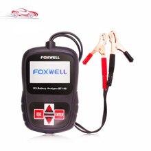 FOXWELL BT100 12V Car Battery Tester for Flooded, AGM, GEL Original BT 100 12 Volt Battery Analyzer CCA Free Shipping