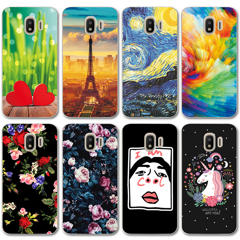 Phone Bags & Cases Energetic Novelty Painted Case Cover For Samsung J2 Pro 2018 Soft Silicone Cases Galaxy J2pro 2018 J215f Phone Shell Coque Landscape Consumers First