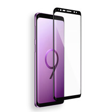 6D Tempered Screen Glass for Samsung Galaxy Note 8 S9 S8 Plus S7 S6 Edge Plus Glass Full Cover 9H Glass Film S9 S9Plus Note8 S8(China)