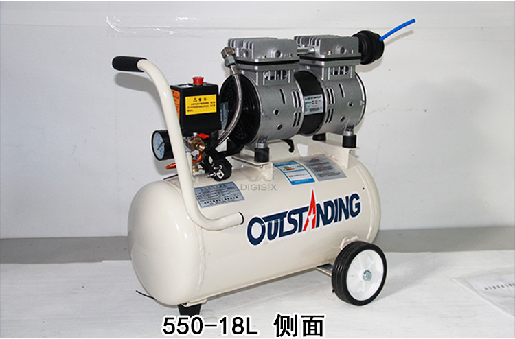 Noisy less light tool,Portable air compressor,0.7MPa pressure,18L air pool cylinder,economic speciality piston filling machine noisy less light tool portable air compressor 0 7mpa pressure 8l air pool cylinder economic speciality of piston filling machine