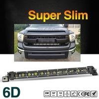 COLIGHT 20 90W Grille Lamp 6D Led Light Bar Single Row Slim 6000K Combo Beam LED