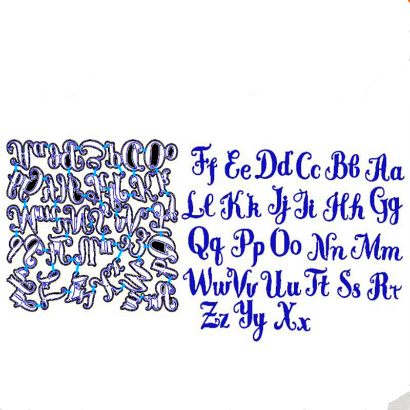 YLCD1170 Alphabet Metall Schneiden Stirbt Für Scrapbooking Schablonen DIY Album Karten Dekoration Präge Ordner Handwerk Sterben Schnitte Neue