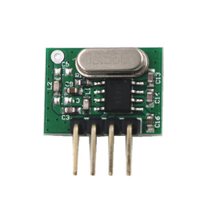Image 3 - 433 Mhz Superheterodyne RF Receiver and Transmitter Module ASK kits with antenna For Arduino uno Diy kit 433Mhz Remote controls
