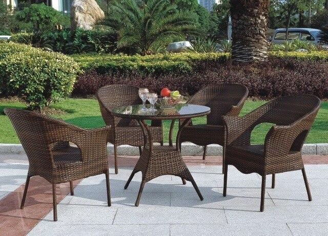 Rieten Balkon Meubels : Hot mix balkon rotan rieten meubelen outdoor rieten salontafel
