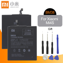 Xiao mi telefonu Pil BM38 3210mAh yüksek Kapasiteli Yüksek Kalite Xiao mi mi 4S mi 4S orijinal Yedek Pil Perakende Paketi