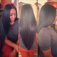 Brazilian Virgin Hair Straight 3Bundles Brazilian Hair Weave Bundles 100% Unprocessed Straight Virgin Hair Bundles 8A Human Hair(China (Mainland))