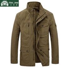 Brand Plus Size 7XL 8XL Military Jacket Men Autumn Winter Cotton High Quality Ou