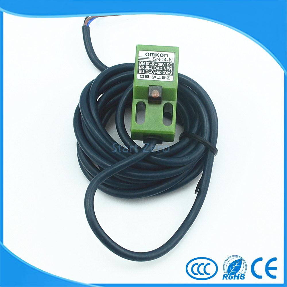 small resolution of inductive proximity sensor sn04 n npn 3 wire no 6 36v dc
