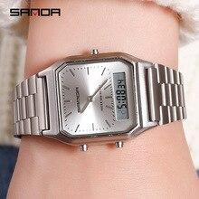 Luxury Sports Watches For Women White Ladies Quartz Digital Waterproof Wristwatches Female Clocks Electronic Relogio Feminino все цены