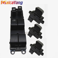 4PCS High Quality 25411 AX010 For Nissan Versa S SL Tiida C11X SC11X Power Window Switch Glass elevator single switch