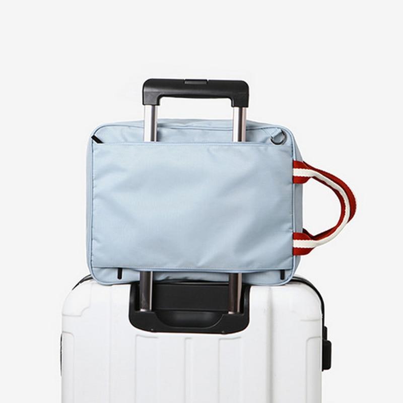 IUX חדש אופנה נסיעות פאוור מים תיקי נשים מסעות יד תיקים מזוודות תיק נסיעות תיקי כתף