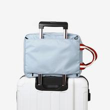 IUX nowa moda etui podróżne wodoodporne Unisex torebki podróżne kobiety bagażu podróży torby na ramię torebki podróżne hurtowo tanie tanio Torby podróżne NYLON zipper Stałe Podróż torba Miękkie men s handbags 36cm 28cm 0 57kg 13cm waterproof nylon Wszechstronny