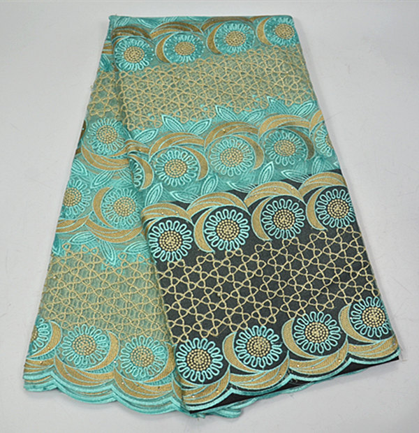 Z220Light green top selling cord lace cloth for party dress,fancy African net lace textile for dress free shipping online