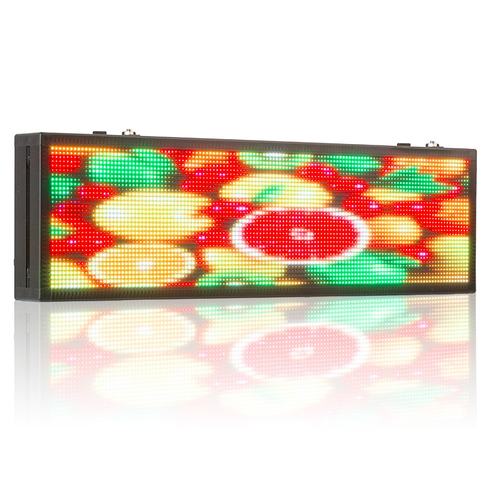 26*8inch P5MM SMD car rear window picture text RGB full-color advertising LED display screen, customized 220V 12V suite optional26*8inch P5MM SMD car rear window picture text RGB full-color advertising LED display screen, customized 220V 12V suite optional