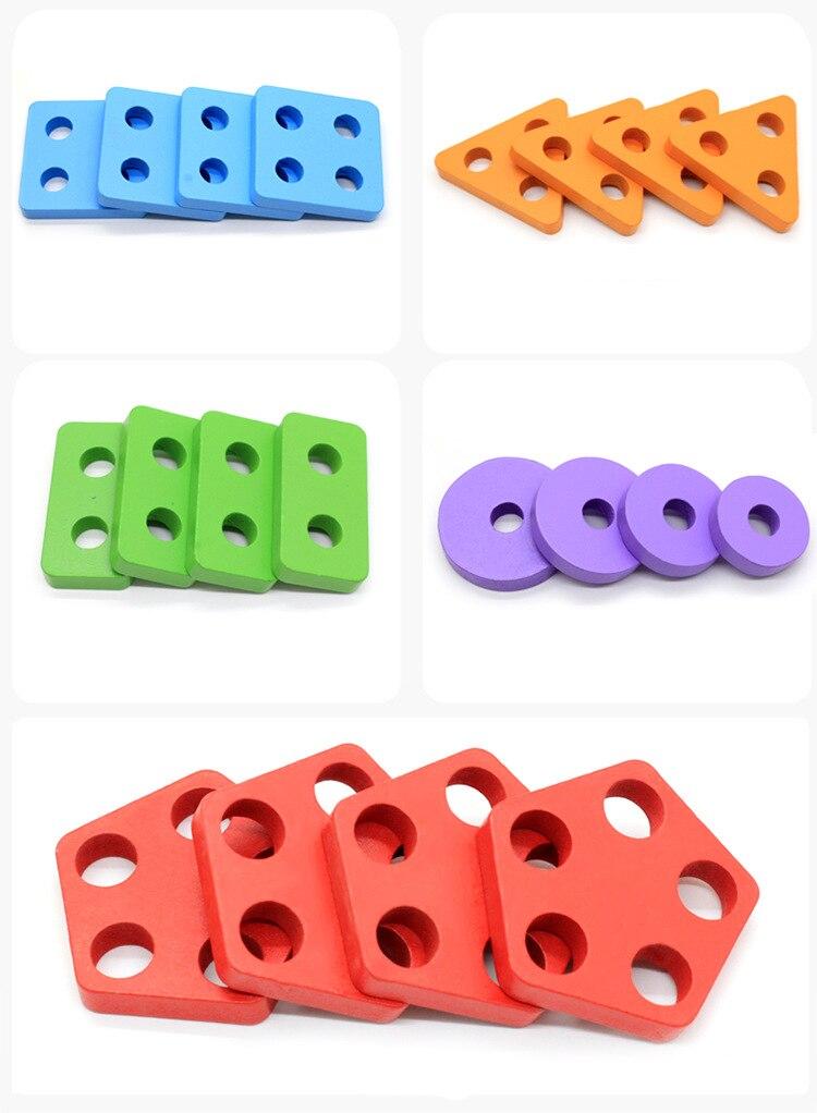 montessori quebra-cabeça pré-escolar aprendizagem jogo educativo do