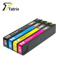 Tatrix 4PK pour HP913 HP913A nouvelle cartouche d'encre Compatible pour HP PageWide 352dw 377dw PageWide Pro 452dw 452dn 452dwt 477dw MFP