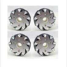 4 дюйма) 100 мм алюминиевый Mecanum колеса набор(4 шт.) для робота автомобиля/робот конкурс колеса