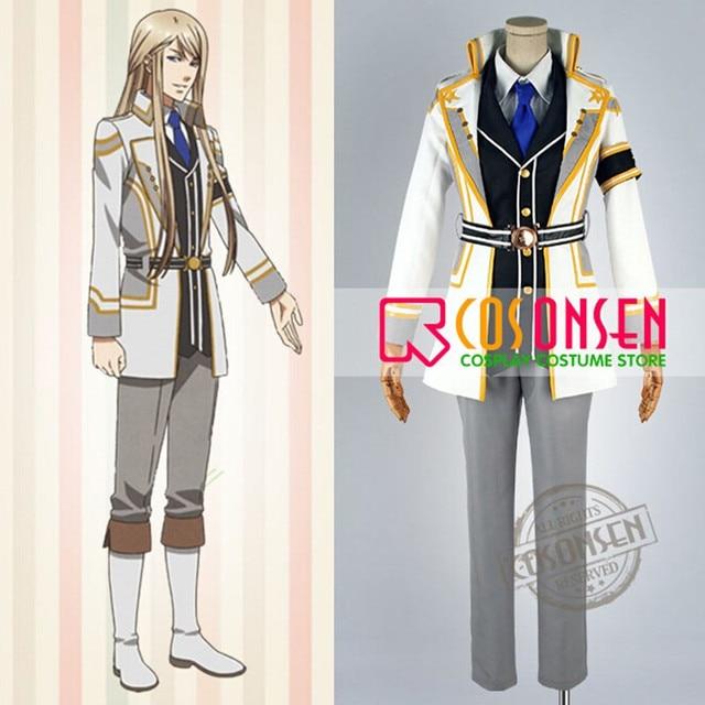 COSPLAYONSEN Mischief of the Gods Kamigami no Asobi Balder Hringhorni  Cosplay Costume Full Set Any Size