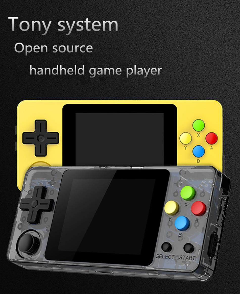 New version LDK game 2 6 inch Screen Mini Handheld Game Console Nostalgic Children Retro game