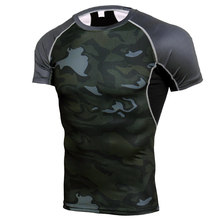 Sweatshirt Foundation Sports-Bra Cycling Compression Gym Men Short Laminated MMA Muscle