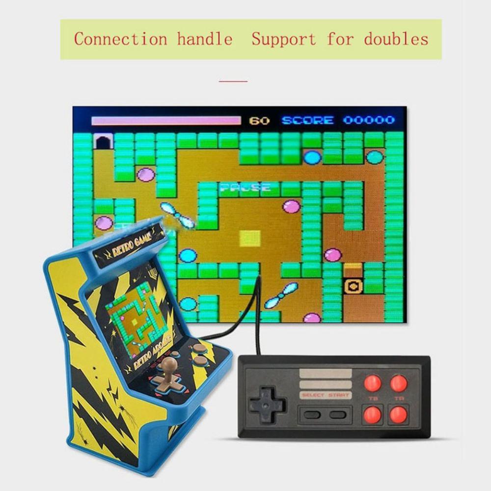 מחשבי וברזי השקיה נתונים צפרדע רטרו מיני ארקייד כף יד קונסולת המשחקים 16 Bit Game Player מובנה 156 משחקים קלאסיים צעצוע מתנה לילדים (5)