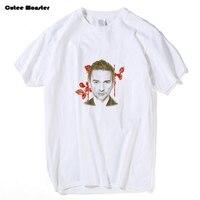 David Gahan Tees Depeche Mode T Shirt 2017 Electronic Music Band Cotton Top Clothing Camisetas Masculina